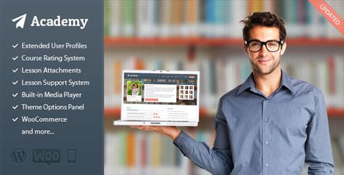 دانلود قالب آموزشی آکادمی وردپرس Academy