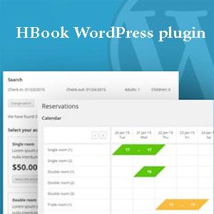 دانلود رایگان افزونه HBook برای رزرو آنلاین در وردپرس