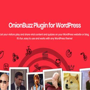 دانلود رایگان افزونه آزمون ساز OnionBuzz در وردپرس