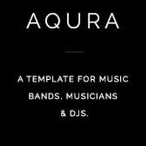 دانلود رایگان قالب موسیقی وردپرس Aqura