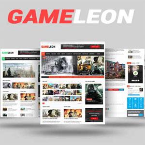 دانلود قالب بازی وردپرس Gameleon رایگان