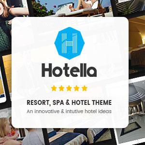 قالب هتلHotella