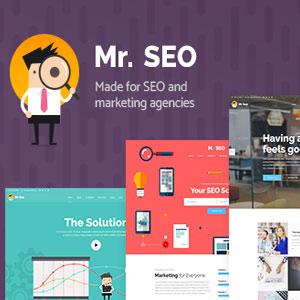 دانلود قالب وردپرس شرکتی و بازاریابی Mr.SEO رایگان