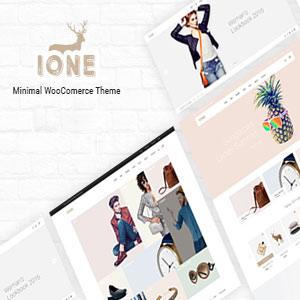 دانلود قالب فروشگاهی وردپرس iOne رایگان