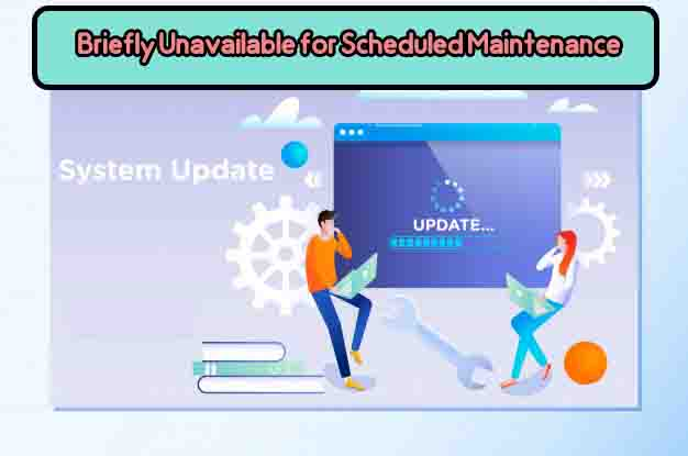 رفع خطای وردپرس Briefly unavailable for scheduled maintenance. Check back in a minute
