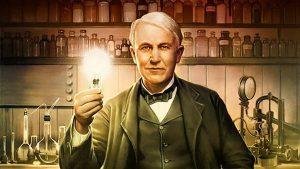 ادیسون مخترع برق